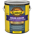 Cabot Solid Color Acrylic Siding Exterior Stain, Neutral Base, 1 Gal. Image 1
