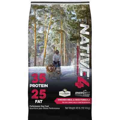 Kent Native Performance 40 Lb. Dry Dog Food, Energy Level 4