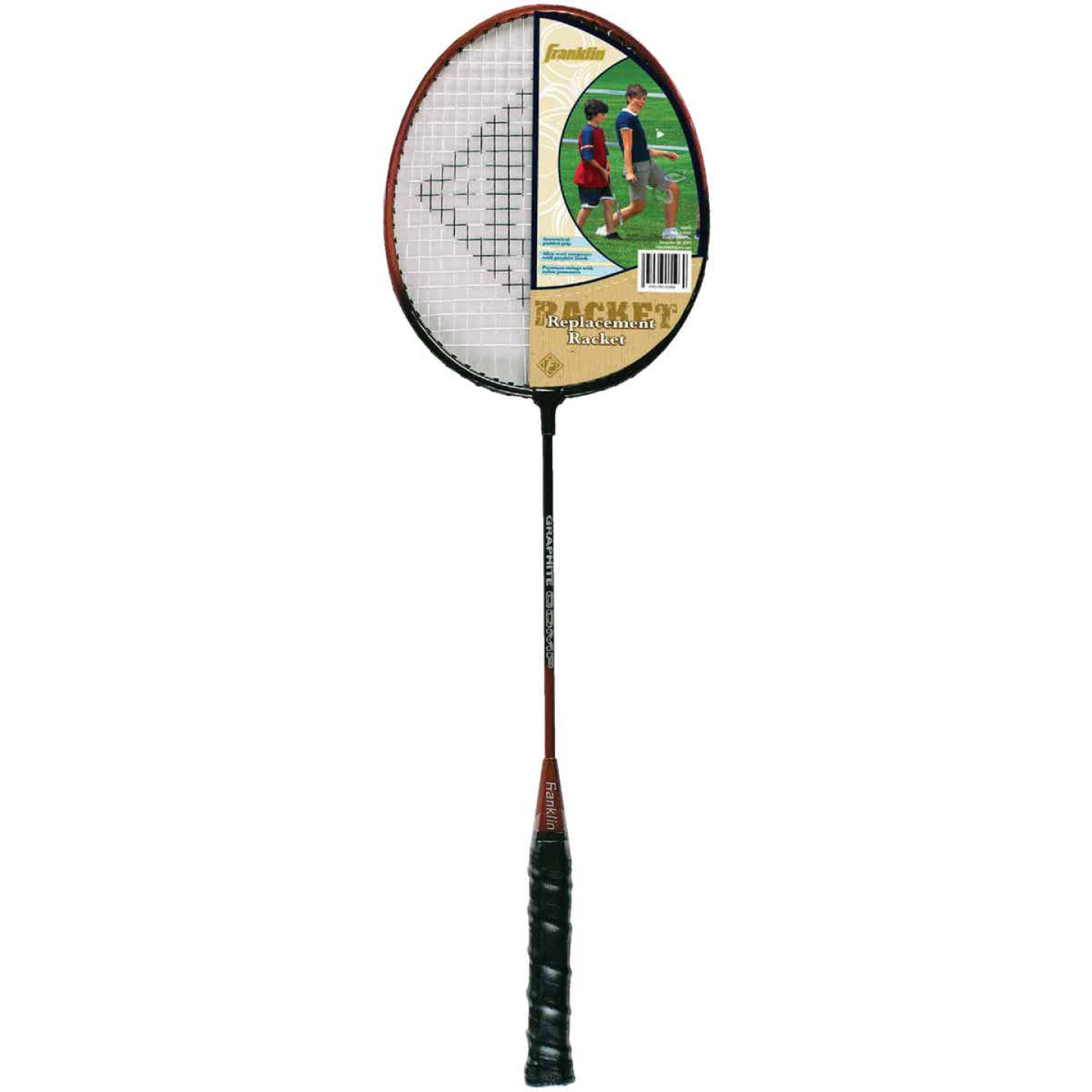 Franklin 2-Player Replacement Badminton Racket Set Image 1