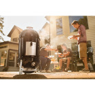 Weber Smokey Mountain Cooker 18 In. Dia. 481 Sq. In. Vertical Charcoal Smoker Image 5