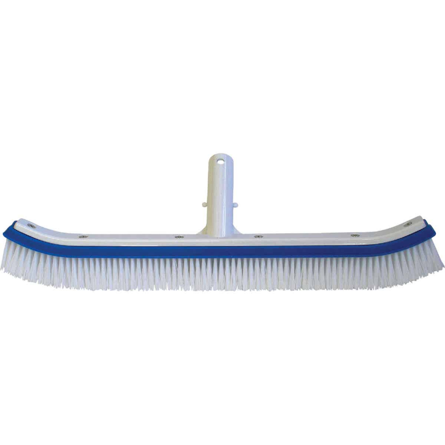 Jed Pool 18 In. L. Plypropylene Bristles Aluminum Back Curved Wall Brush Image 1