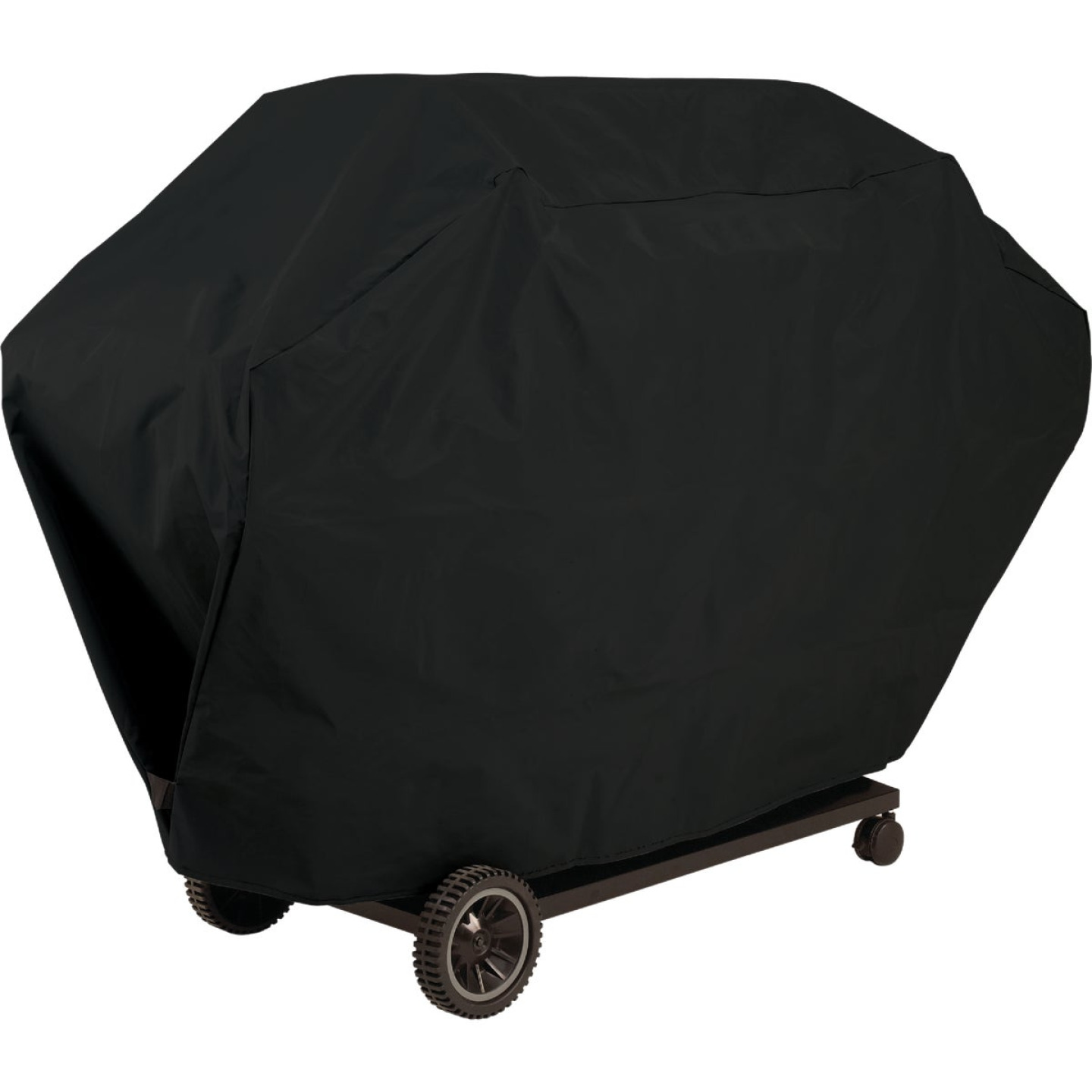 GrillPro 51 In. Black PVC Deluxe Grill Cover Image 1