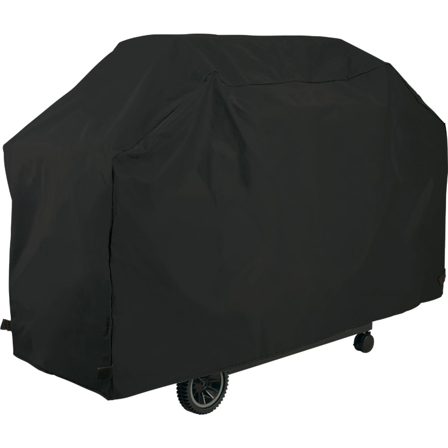 GrillPro 70 In. Black PVC Deluxe Grill Cover Image 1