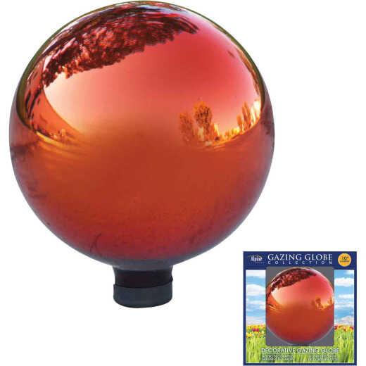 Alpine 10 In. Dia. Electric Red Glass Gazing Globe