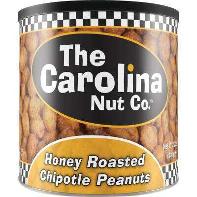 The Carolina Nut Company 12 Oz. Honey Roasted Chipotle Peanuts