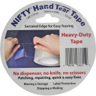 Nifty 2 In. x 55 Yd. Clear Hand Tear Sealing Tape Image 1