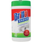 Brillo Basics Unscented Multi Surface Bathroom Wipes (40-Count) Image 1