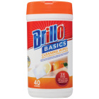 Brill Basics Citrus Scented Multi Surface Cleaning Wipes (40-Count) Image 1